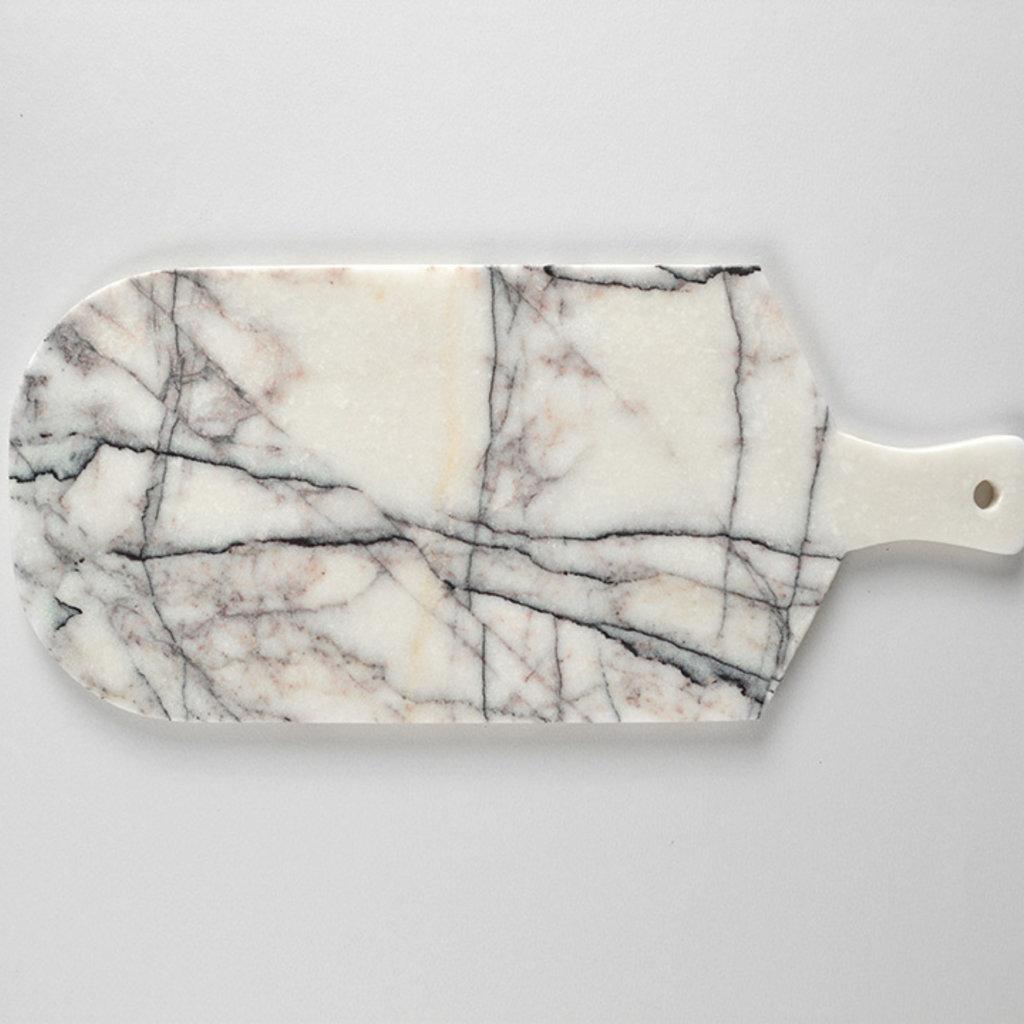 Kiwano Lilac Wit Marmer Snij en Serveerplank