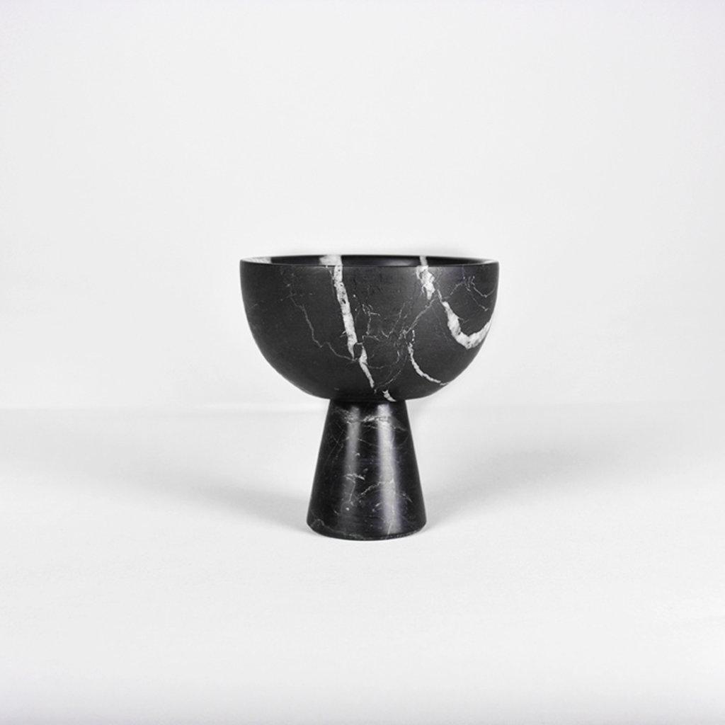 Kiwano Black Mini Marble Ice and Snack Cup