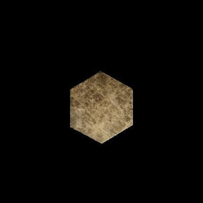 Kiwano Emparador Hexagon Onderzetters Set van 4