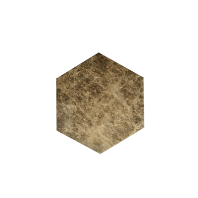 Kiwano Emparador Marmer Hexagon Plank Small