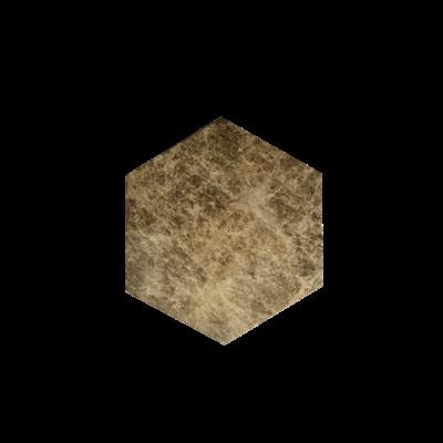 Kiwano Emparador Marmer Hexagon Plank Small