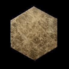 Kiwano Emparador Marmer Hexagon Plank Medium