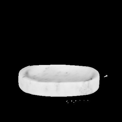 Kiwano Bianco Marble Soap Dish