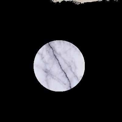 Kiwano Lilac Marble Round Coasters Set