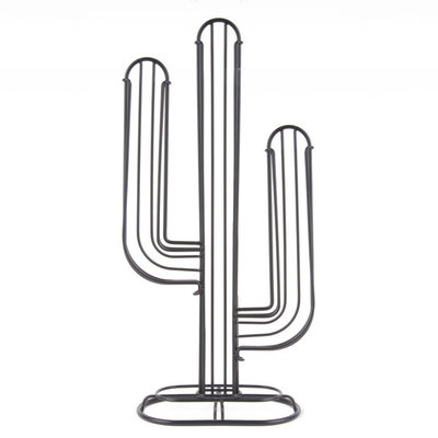 Present Time Cactus Coffee Cup Holder Zwart