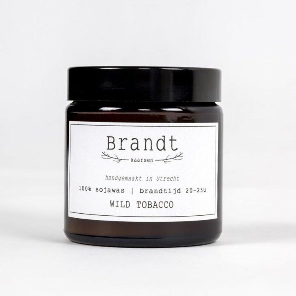 Brandt Apotheek Kaars Wild Tobacco | Brandt