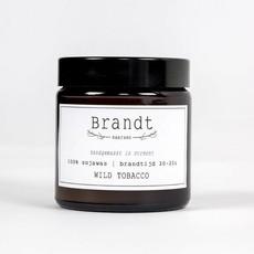 Brandt Apothecary Candle Wild Tobacco | Brandt
