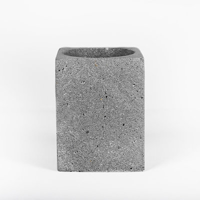 Kiwano Grey Basalt Pen or Toothbrush Holder