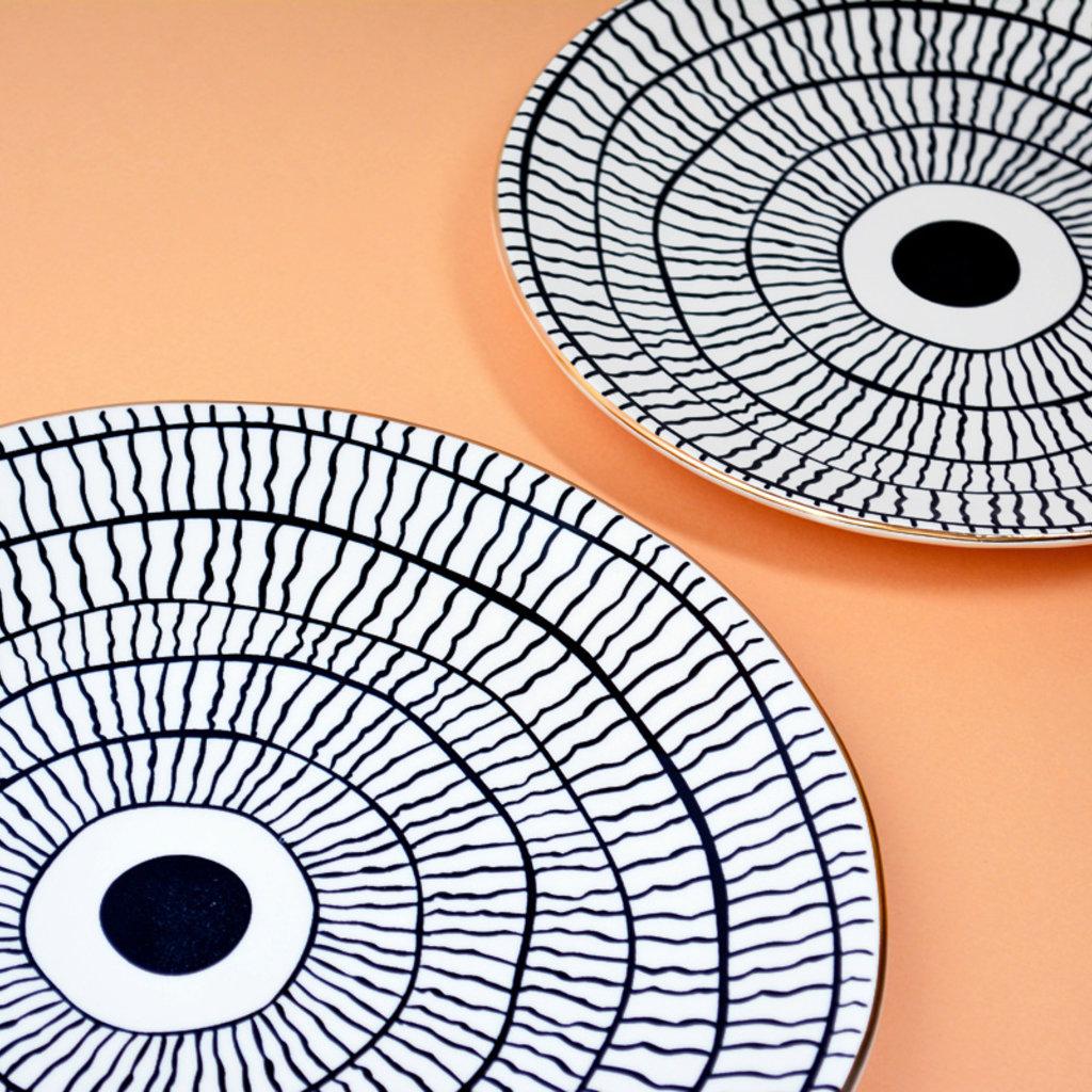 "Ceramic Breakfast Plate ""John"""