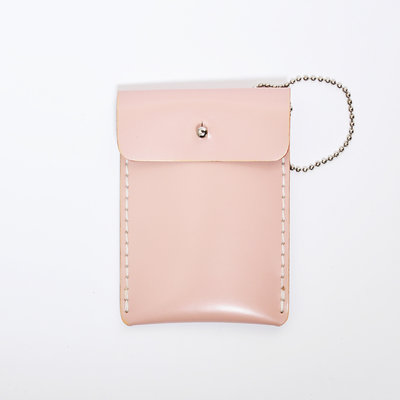 Gush Goods Leather Card Holder| Pink
