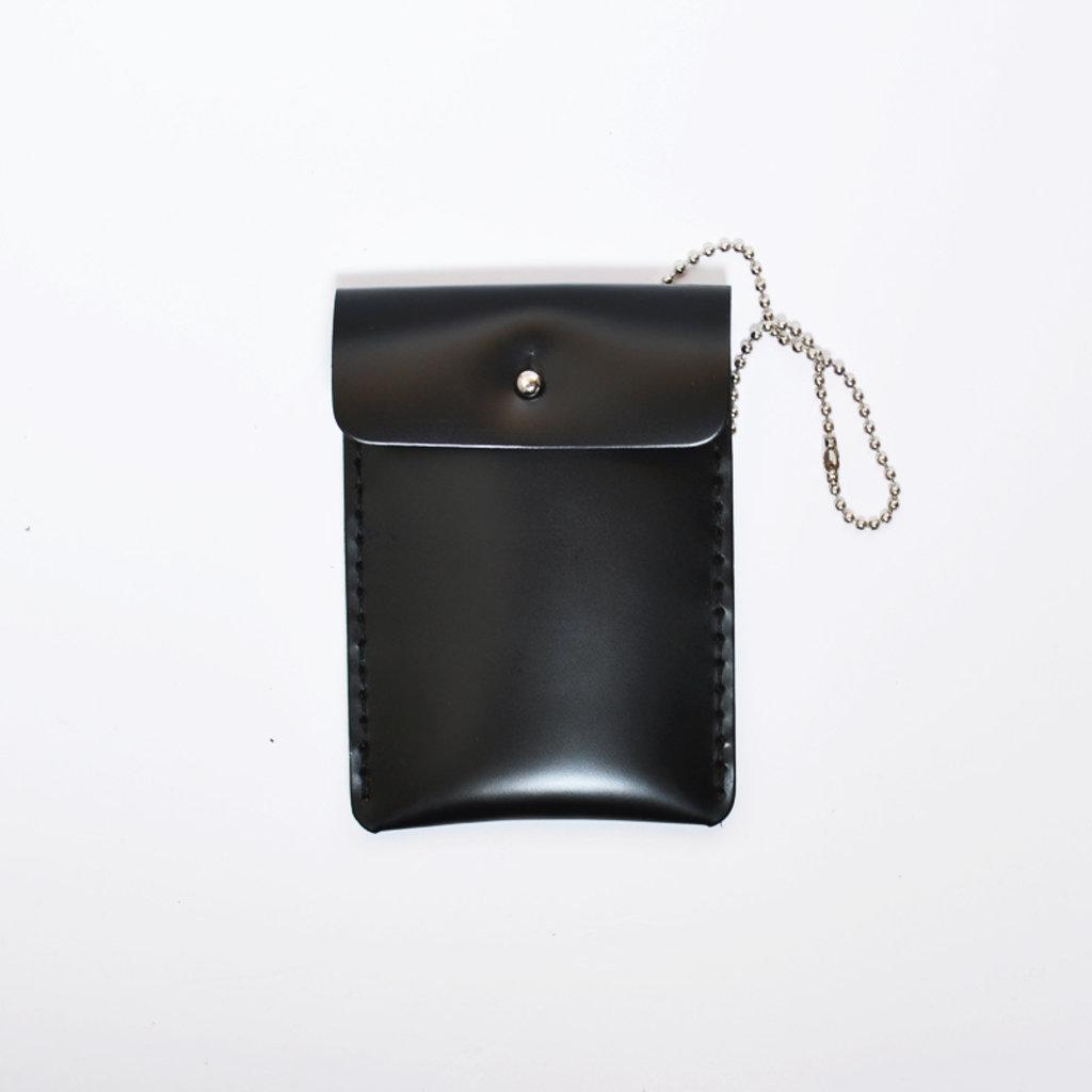 Gush Goods Leren Kaarthouder | Zwart