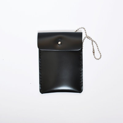 Gush Goods Leather Card Holder | Black