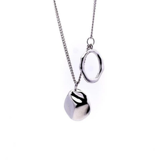 Marc West Necklace Silver 'Planets'