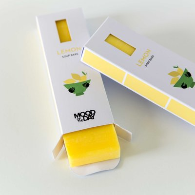 Cool Soap Zeep Bar Set van 3 | Lemon