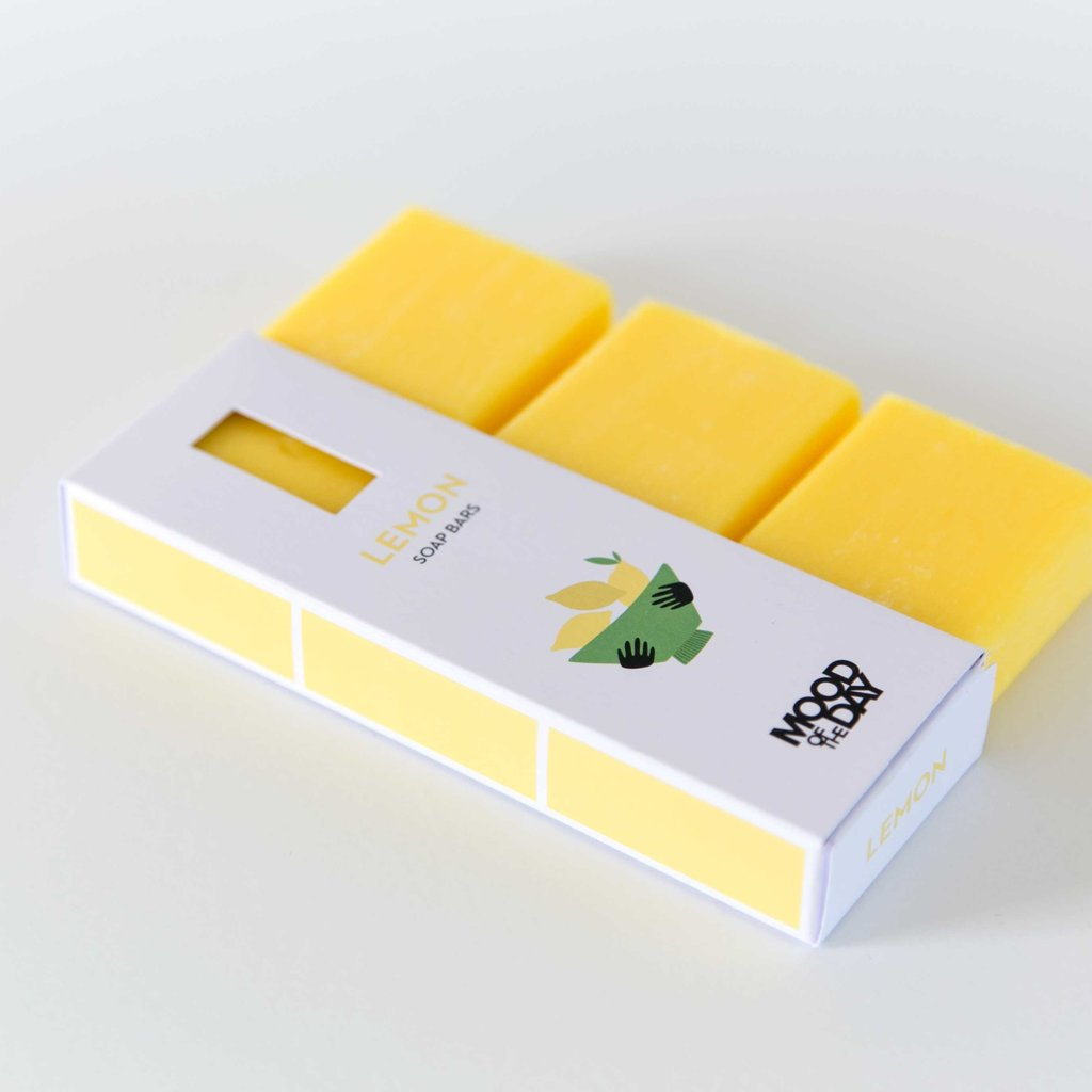 Cool Soap Zeep Bar 3x Lemon | Mood of the Day
