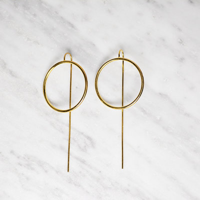 Biell Design Gold Plated Earrings