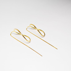 Biell Design Minimalistic Gold Plated Earrings