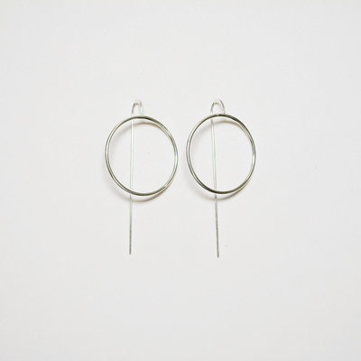 Biell Design Minimalistic Silver Earrings