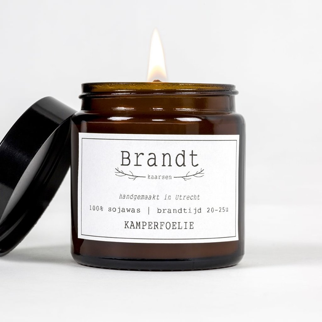 Brandt Apothecary Candle Honeysuckle