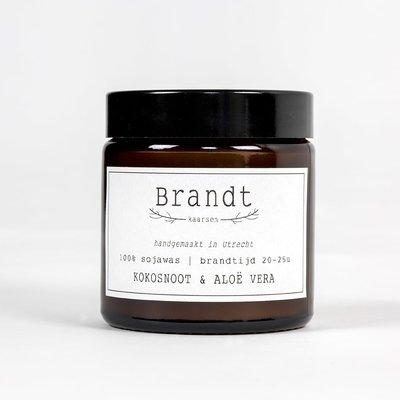 Brandt Candle Coconut & Aloe Vera | Brandt