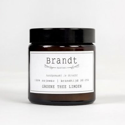 Brandt Candle Green Thee & Lemon | Brandt