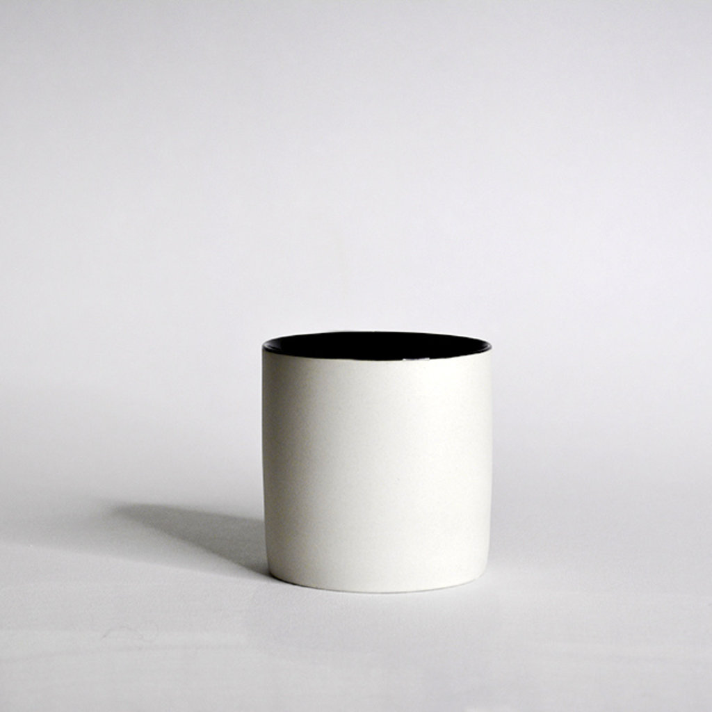 Kinta Cup Without Handle - Light Grey, Black