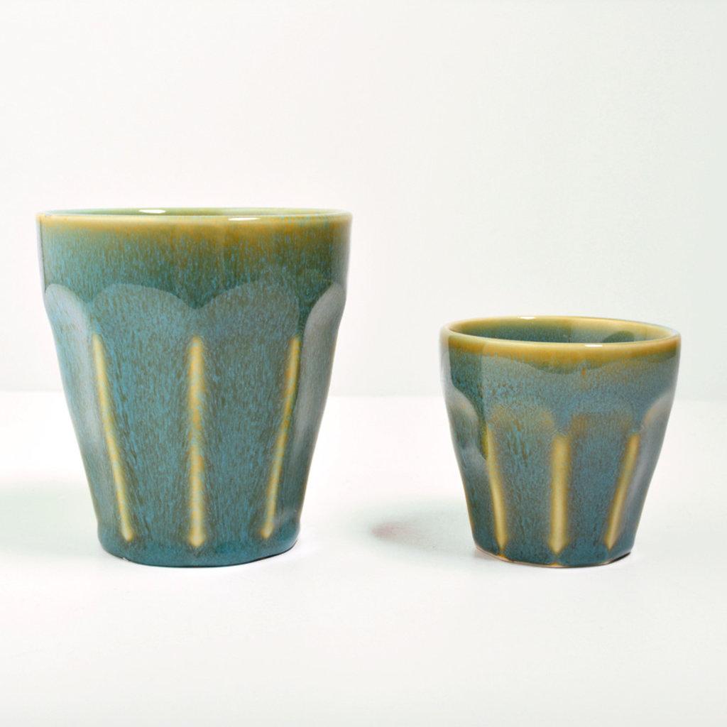 Color Cup Facette Blue
