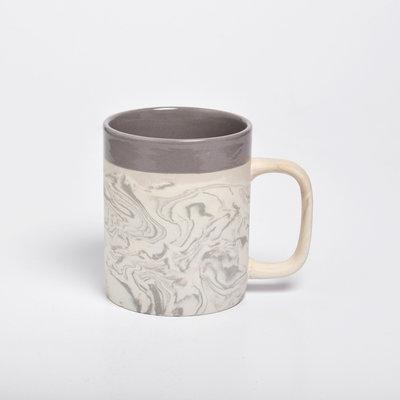 Kinta Marblelook Ceramic Mug | Gray