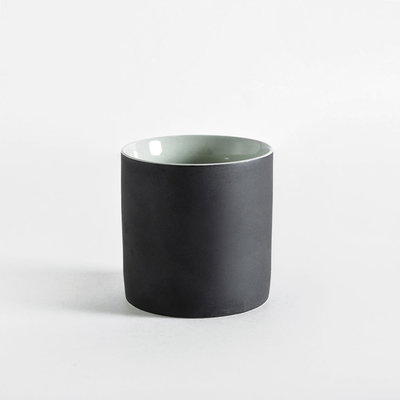 Kinta Cup without handle, Gray, Mint, Mustard