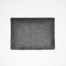 Kiwano Simple Leather Felt Clutch / Ipad Sleeve