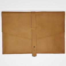 Kiwano Leather Laptop Bag or Clutch | L