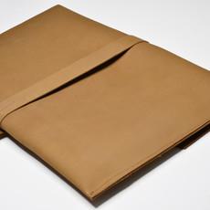 Kiwano Leren Laptop Tas of Clutch | L