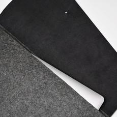 Kiwano Minimalistic Laptop Bag Clutch | Felt & Leather | L