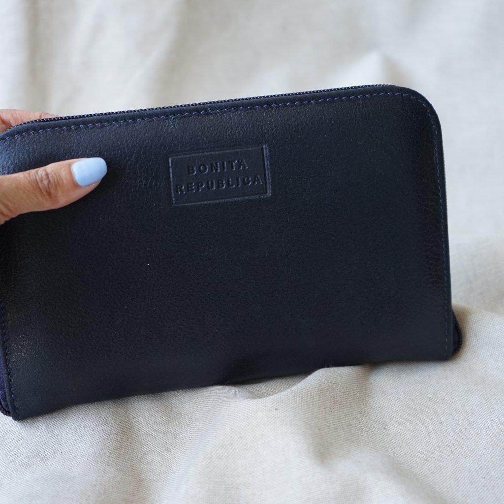 Bonita Republica Bonita Republica Otavalo Wallet - black & dark blue