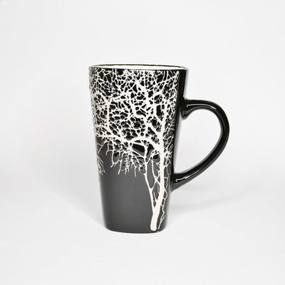 Large Black Tree Cup