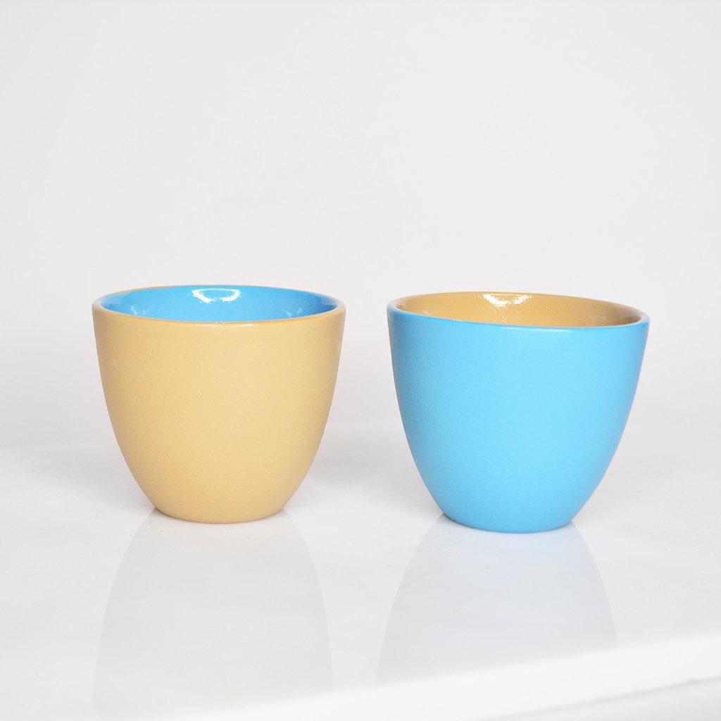 Kiwano Contrast Color Espresso cup | set of 2