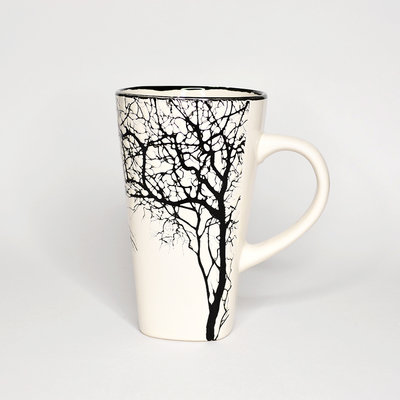 Large White Tree Cup