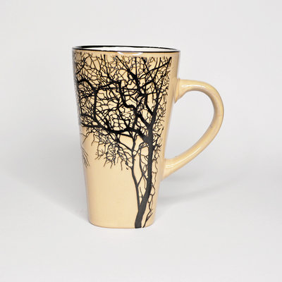 Large Cappuccino Tree Cup