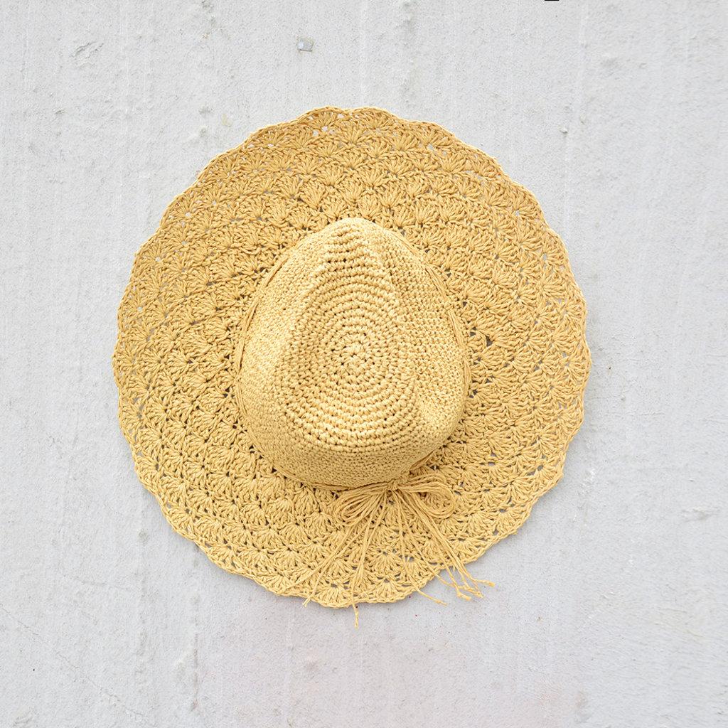 Kiwano Natural Women's Sun Hat Straw