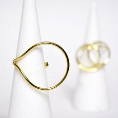 Biell Design Biell Design Vergulde Ring