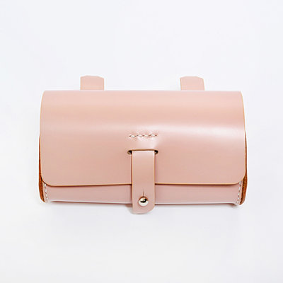 Gush Goods Leather Waist Bag | Pink