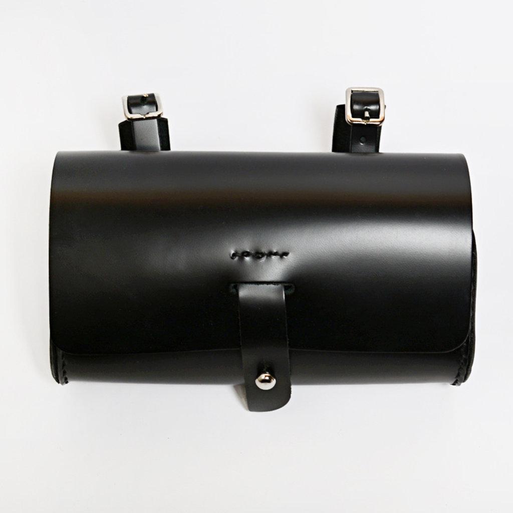 Gush Goods Leather Waist Bag   Black