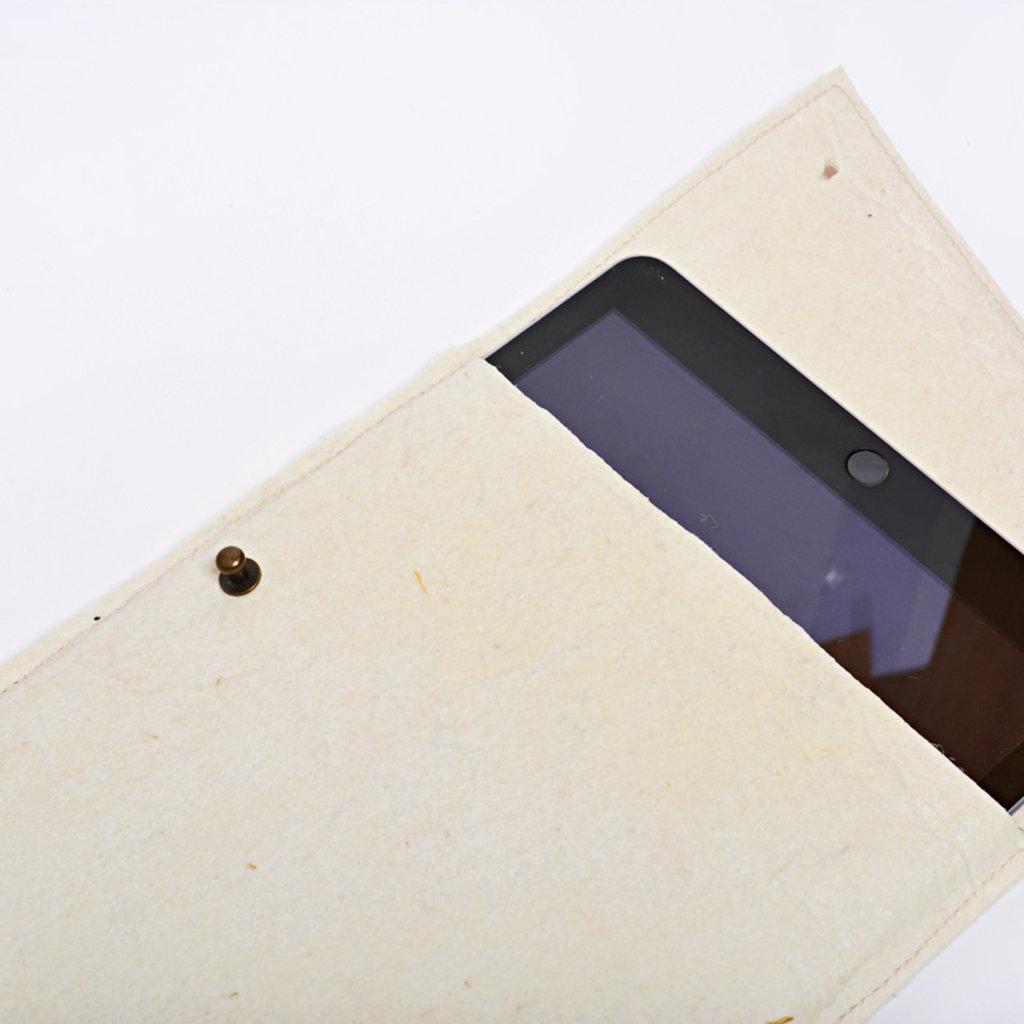 """Kiwano Vegan Ananas Leer Tablet Sleeve """"9,7 inch"""""""
