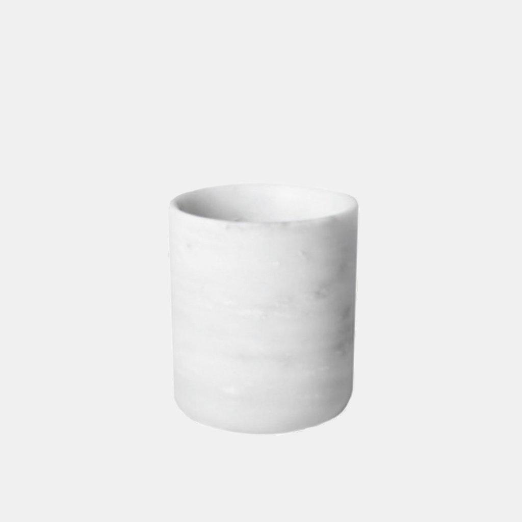 Kiwano Bianco Round Brush Holder