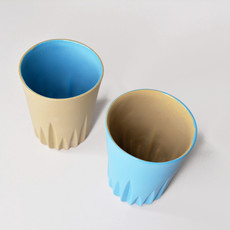 Kiwano Contrast Color coffee cup | set of 2