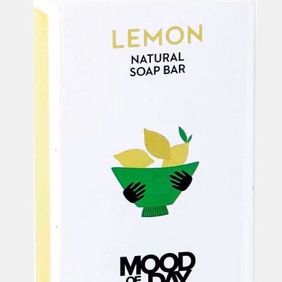 Cool Soap Soap Bar Lemon | Mood of the Day