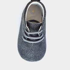 Baby Su Bubby Grey Glitter Babyschoentje