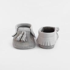 Baby Su Moccasins Grey Glitter Babyschoentjes