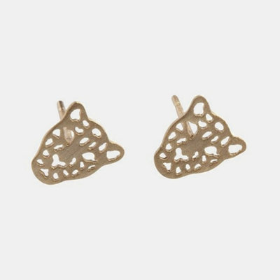By Lauren Amsterdam Panther Earrings Gold or Silver