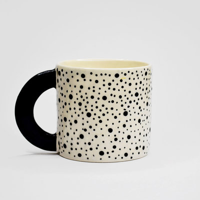 Kiwano Handmade Cup with Dots |  Large